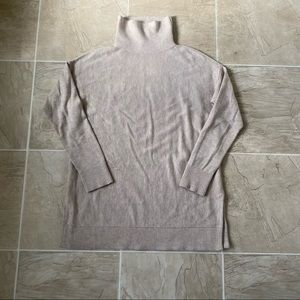 Loft turtleneck tunic sweater
